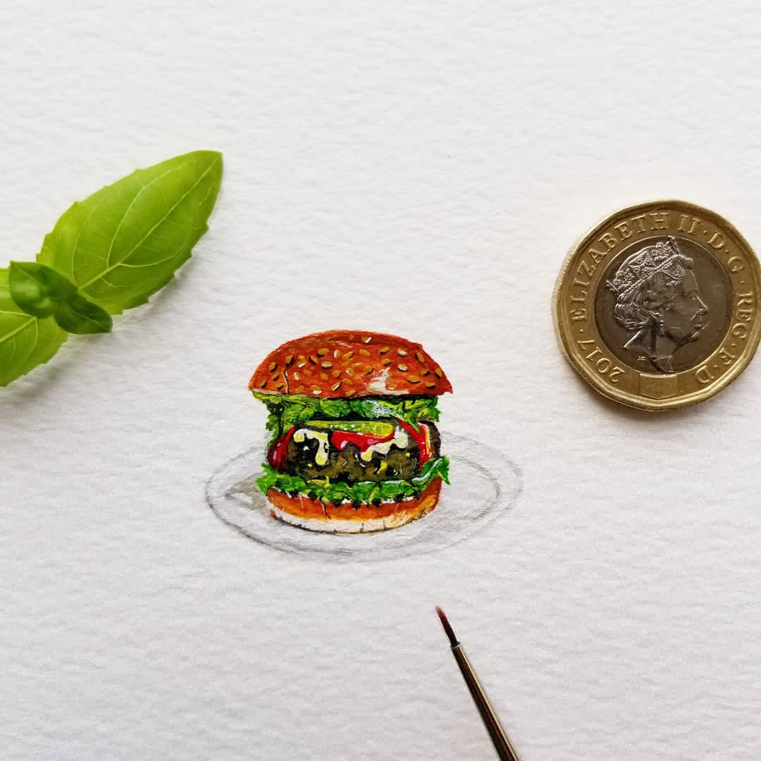 Miniature Series - Joe's Ultimate Veggie Burger
