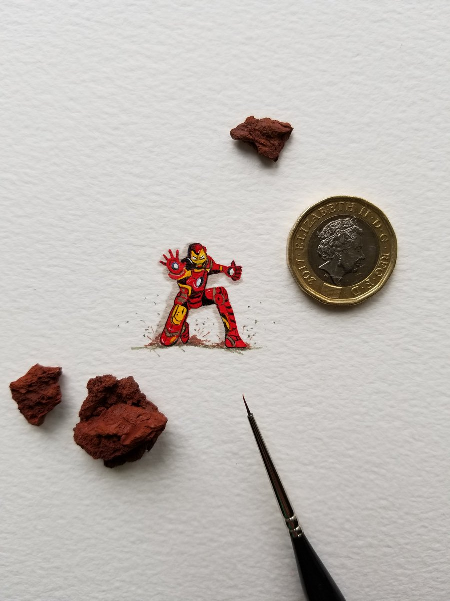 'Divert power to chest RT.' Miniature Series: Iron Man
